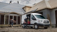 Voracious van sales give Ford, GM silver lining