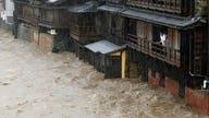 Typhoon, earthquake and tornado hit Japan, shutting down cities with evacuations