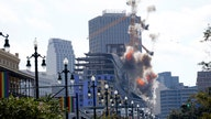 Hard Rock Hotel's dangerous cranes exploded in New Orleans