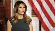 Melania Trump brings 'spirit of America' to Toys for Tots