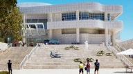 Getty Center's art stays put as fires raged nearby. Here's why