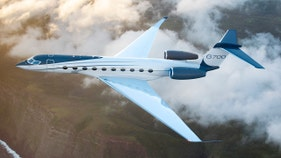 SEE PICS: Inside the world's most spacious private jet