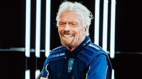 Richard Branson previews the future of space travel