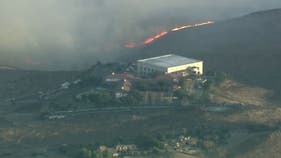 How Reagan library was saved after coming within yards of monster fire