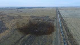 Keystone pipeline leaks oil in northeastern North Dakota