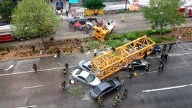 Construction firms fined $107K in 'totally avoidable' killer crane collapse