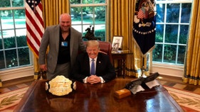 President Trump returning to his MMA past this weekend