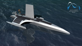 MODERN MAYFLOWER: Unmanned vessel to set sail across the Atlantic