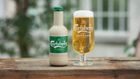 Brewer Carlsberg explores paper beer bottle improve sustainability