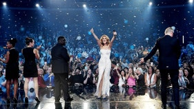 Celine Dion's No. 1 album falls out of Top 100 in record-setting plummet