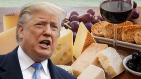 France threatens 'strong' response to Trump's cheese, wine tariffs