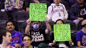 Sixers fan booted from NBA game for supporting Hong Kong
