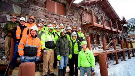 Crews finish $9M restoration of historic chalet gutted in wildfire