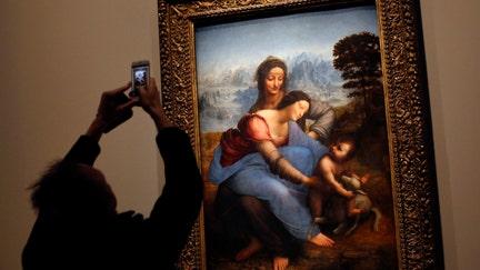 Da Vinci exhibition opens in Paris, proves a major success