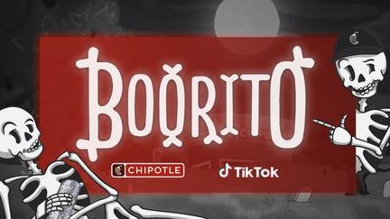 Chipotle launches TikTok costume contest with Boorito deal