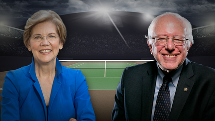 Warren parts with Sanders on whether billionaires should exist