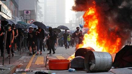 Hong Kong protests could impact trade talks