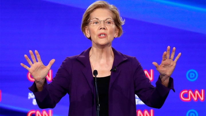 Warren slammed during debate for skirting 'Medicare for All' tax question