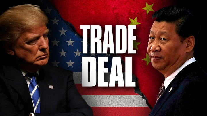 Trump announces when he'll sign 'phase one' China trade deal