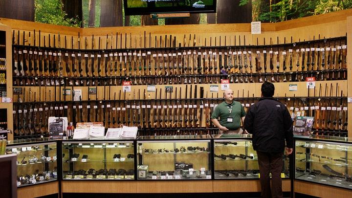 Gun sales skyrocket this holiday season