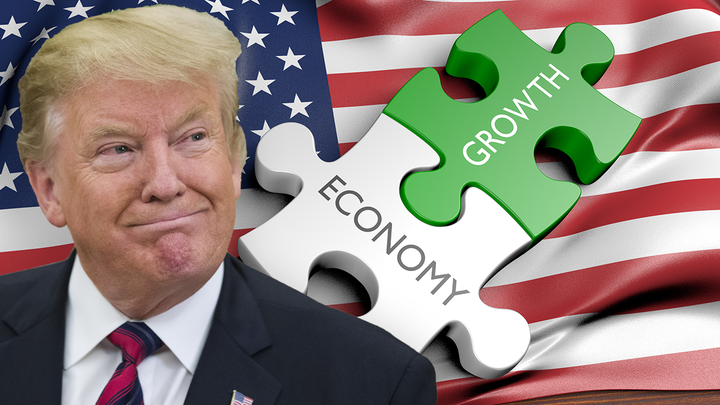 US fights off manufacturing woes, posts a win on GDP
