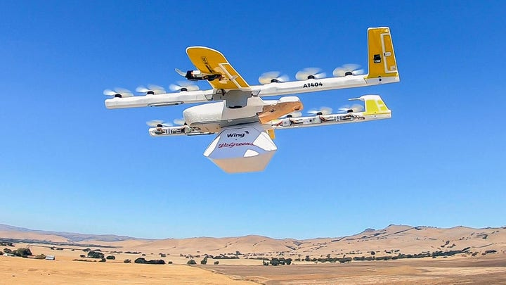 Drug chains, hospitals take to the skies for medical deliveries via drones