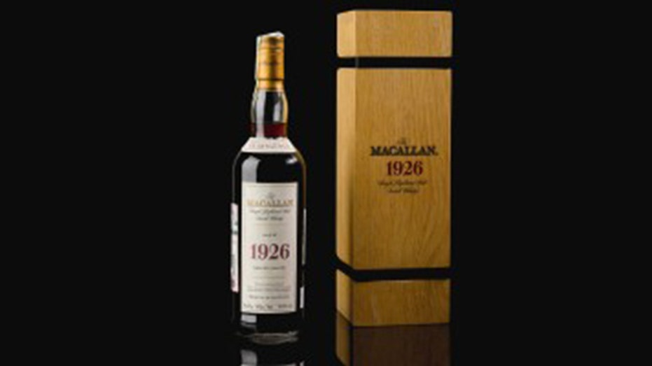 World's most expensive bottle of whisky sells for £1.5mn
