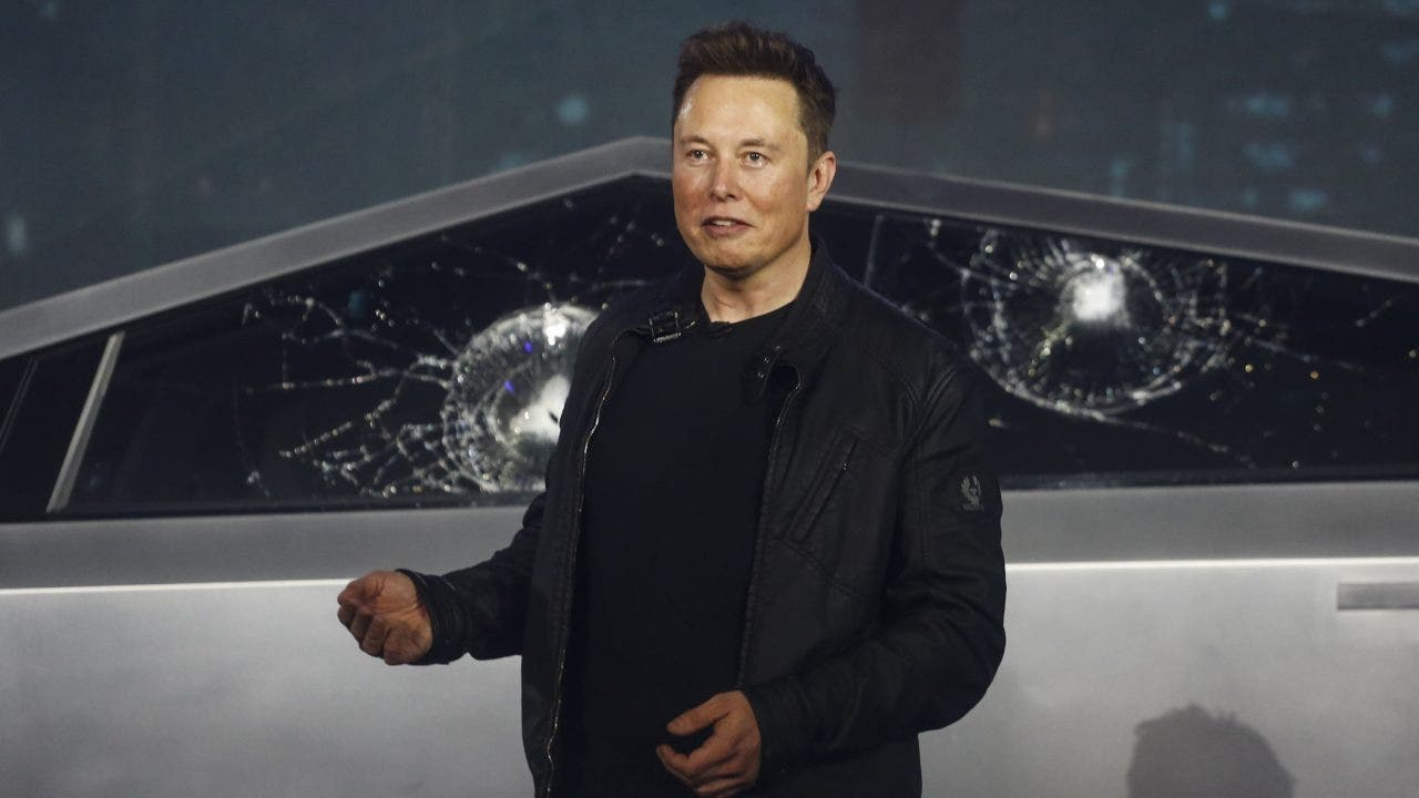 Cybertruck spotted in rare test drive ahead of Elon Musk's 'SNL' appearance