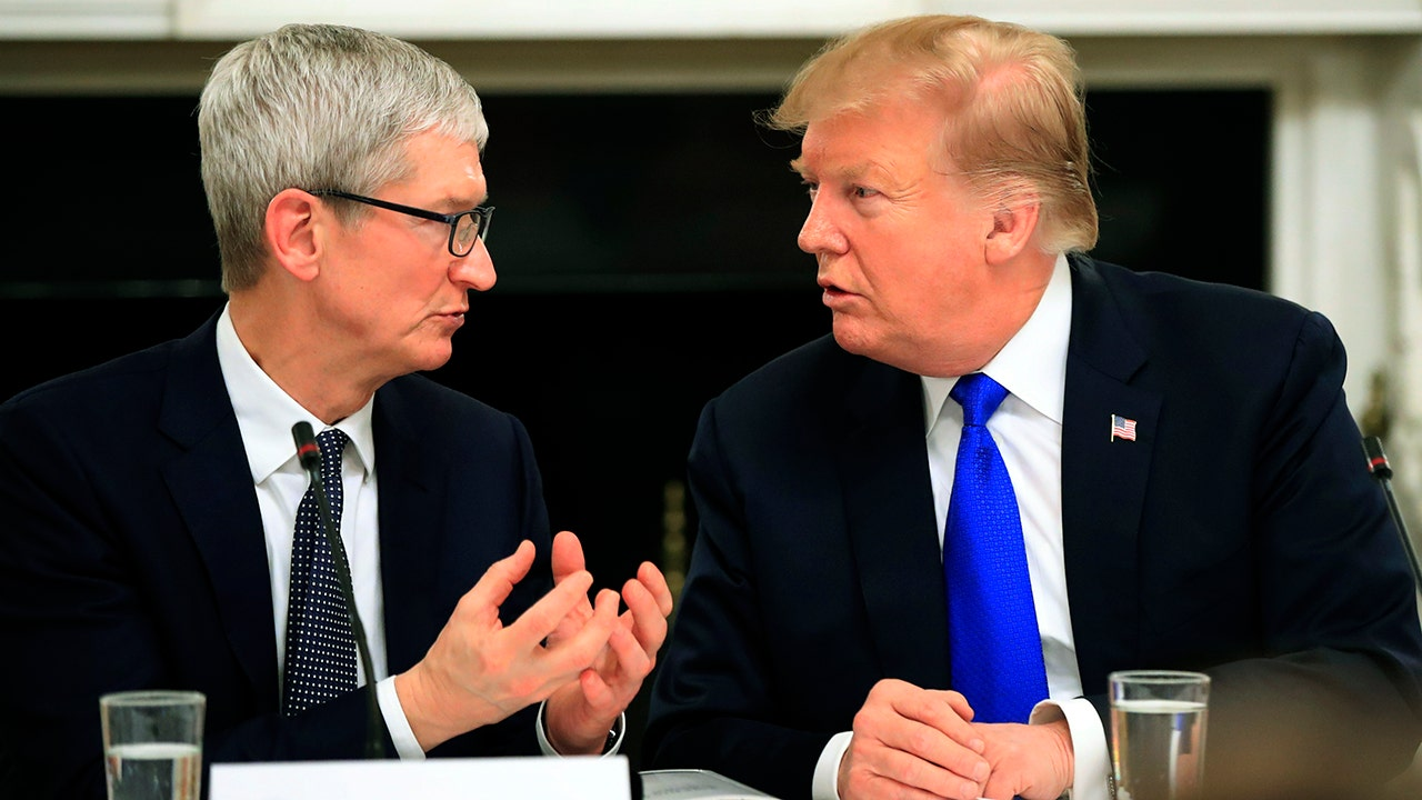 For Apple CEO Tim Cook and President Trump, it's all about jobs