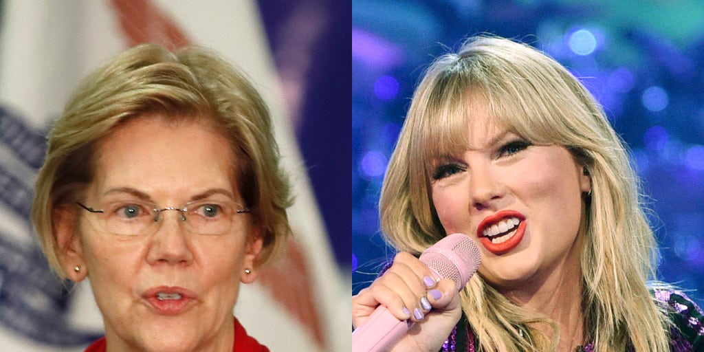 Taylor Swift gets support from Elizabeth Warren amid record label dispute