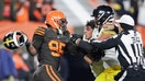 NFL's Myles Garrett suspended in Browns brawl: How much money is on the line?