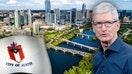 Apple's CEO Tim Cook gives Austin, Texas an A+