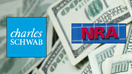 Charles Schwab charitable fund suspends customer donations to NRA