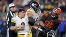 Adidas 'looking into' NFL star's suspension over helmet brawl