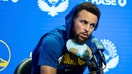 Golden State Warriors' Stephen Curry expresses optimism about return after breaking hand