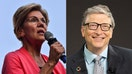 Bill Gates jabs Elizabeth Warren over her 'beef with billionaires'