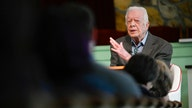 Jimmy Carter draws devotees to church, still teaching at 95