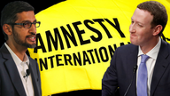 Amnesty International goes scorched earth on Google, Facebook