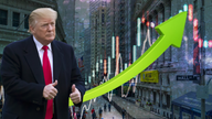 Dow scores 100th record close under Trump