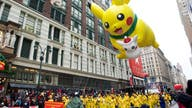 Macy's Thanksgiving Day Parade balloons take flight amid windy conditions