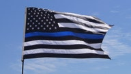 Woodworker's 'thin blue line' flag sparks controversy