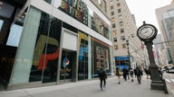 PayPal 'opens' its holiday windows today on New York City's 5th Ave
