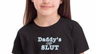 Amazon vendor behind 'Daddy's Little Slut' kids shirts under fire