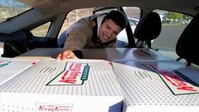College student making tons of cash reselling Krispy Kreme gets huge boost