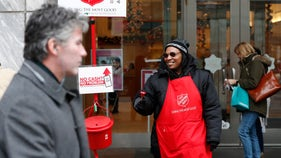 Salvation Army's famous bell ringers get digital upgrade for modern donors