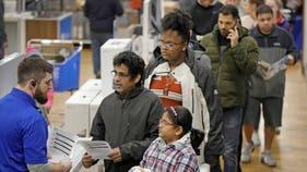Retailers scramble as Black Friday kicks off shorter shopping season