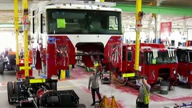Firefighters flock to US manufacturer for custom-made fire trucks