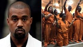 Kanye West 'brings light' to inmates ahead of Joel Osteen megachurch visit