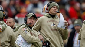 Nike omitted Washington Redskins name from 'Salute to Service' hoodies