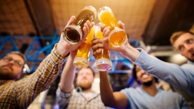 Hometown bars across America expect sales spike on Thanksgiving Eve